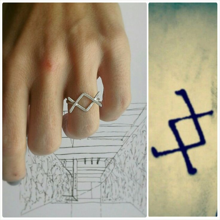 ○ ingus // viking symbol // Where there is a will there is way
