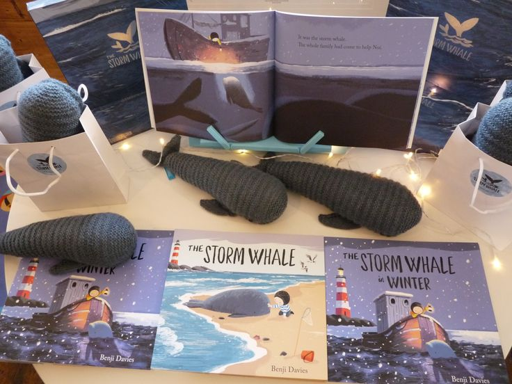 The Storm Whale arrived!