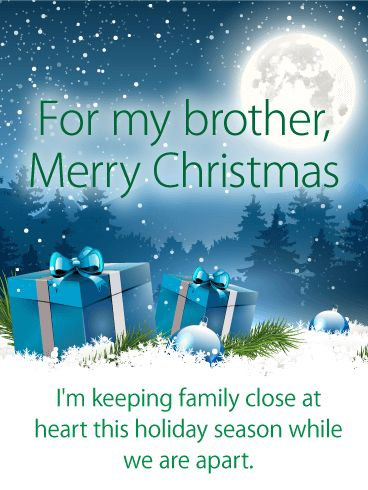 The 10 Best Christmas Cards For Brother Images On Pinterest
