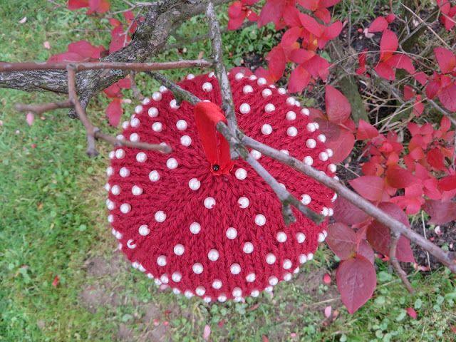 Bombka z koralikami