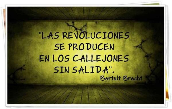 Revolución sin salida