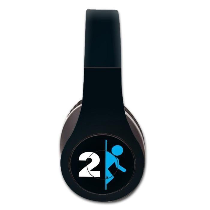 Portal 2 decal for Monster Beats Studio 1.0 wireless headphones