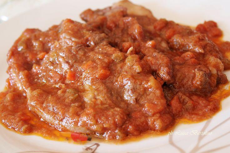"""""""Pittinicchi"""" ( costine di maiale) al sugo"""