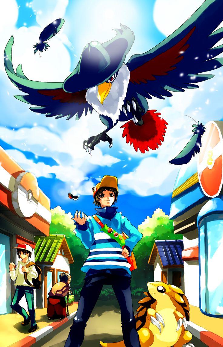 Pokemon YAMI use Fly by Sa Duiviantart on deviantART