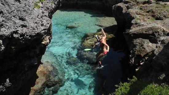 Matapa Chasm Pool