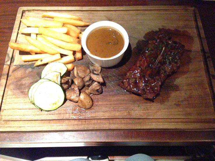 chef's special steak