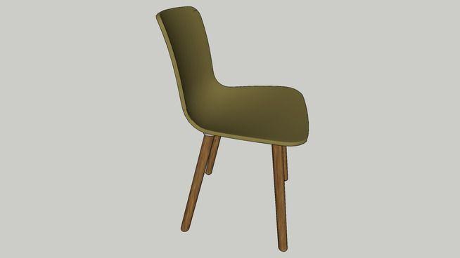 Vitra Hal chair - 3D Warehouse