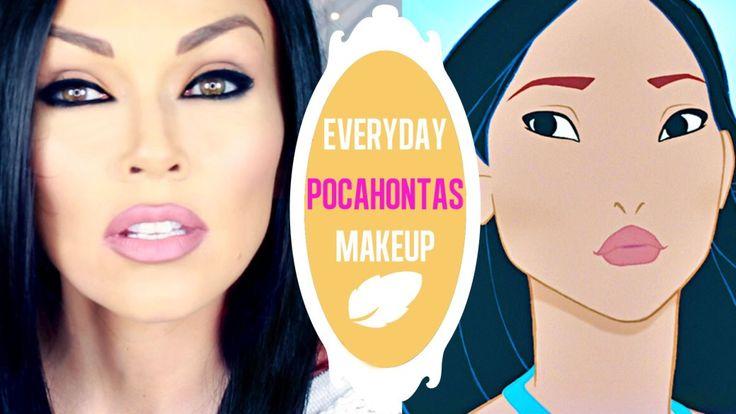 Everyday Pocahontas Makeup | Kandee Johnson – Makeup Project