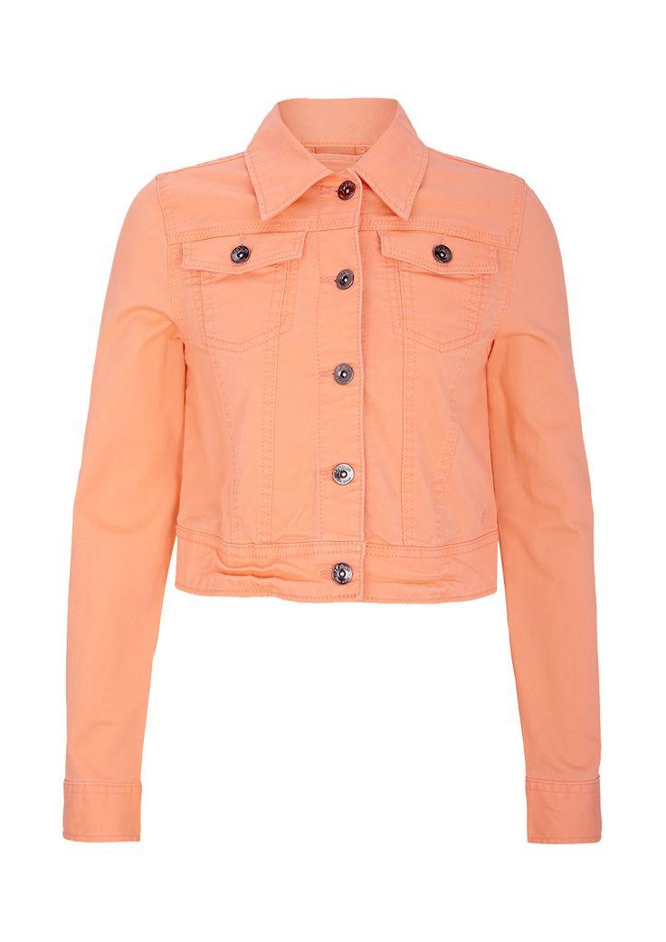 Colored Jeansjacke von s.Oliver. Bunte Jeansjacken sind stylish und ein echter Eyecatcher.