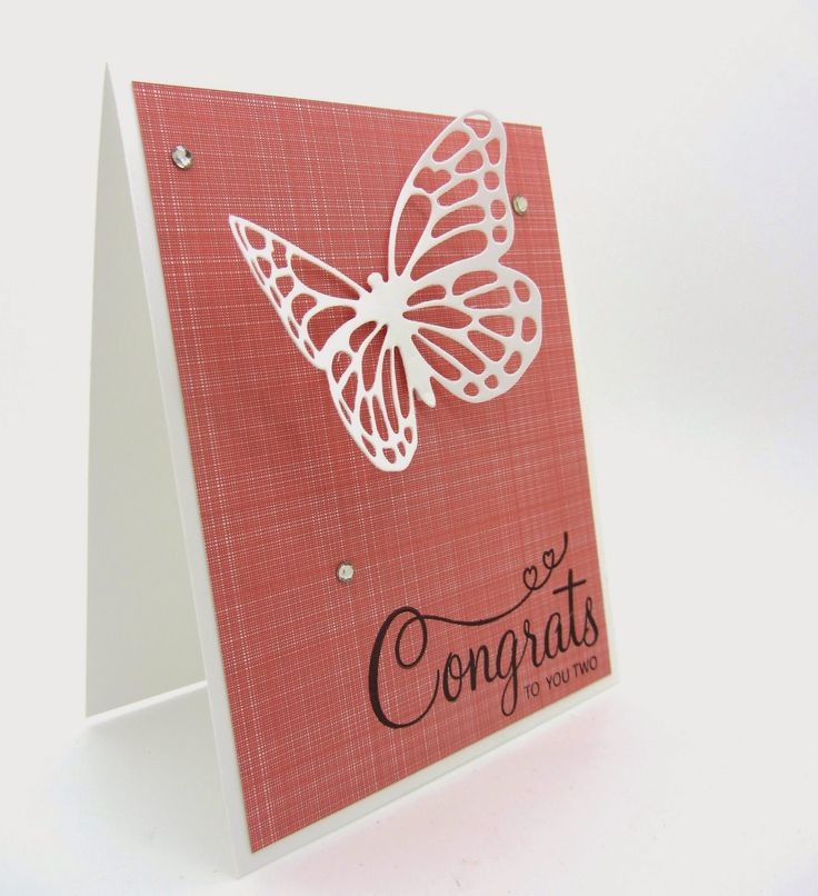 """Occasion Catalog and Sale-A-Bration. On today's card I used the beautiful butterfly from the """"Butterflies Thinlits Dies"""" from Stamping' Up! which will be available January 6, 2015"""