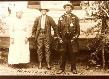 Atikamekw family at Manawan, Quebec - 1914