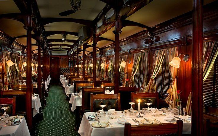 Dining - Rovos Rail Pretoria to Durban Journey