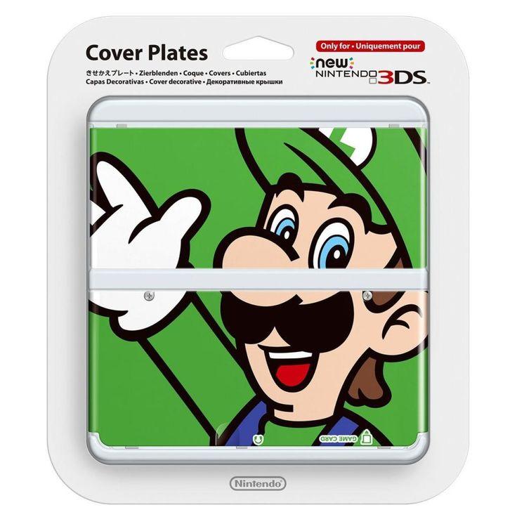 Coque Luigi 02 - #New3DS @ReferenceGaming