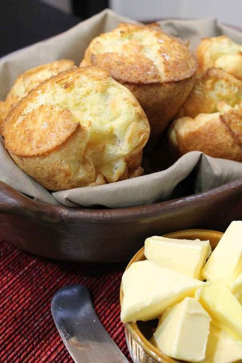 Simple Homemade Popovers Recipe | The Hungry Mouse