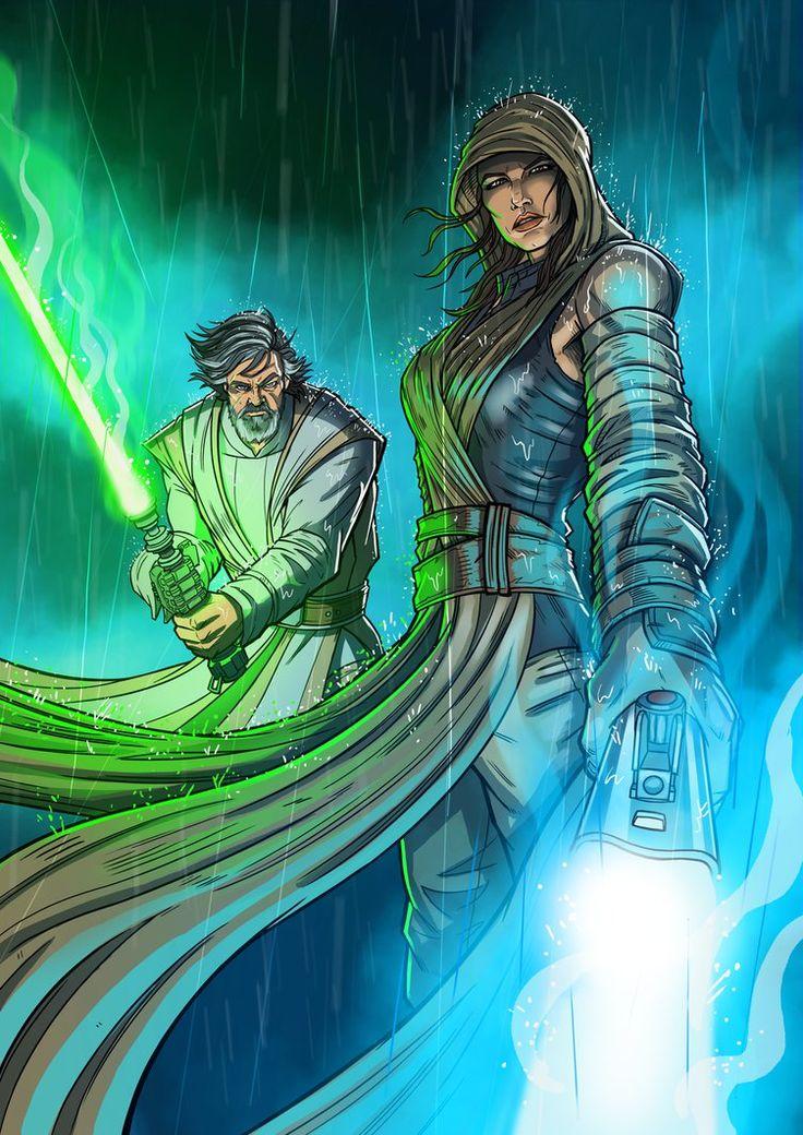 The Last Jedi - DazTibbles