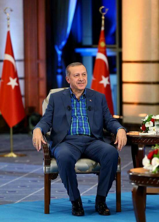 Liderim Recep Tayyip Erdoğan Selam durun