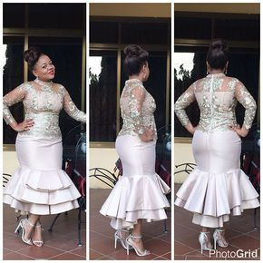 Instagram photo by evecollections - Front , side and back view of Marriane gorgeous dress @evecollections . . MUA @dahliathebeautylounge