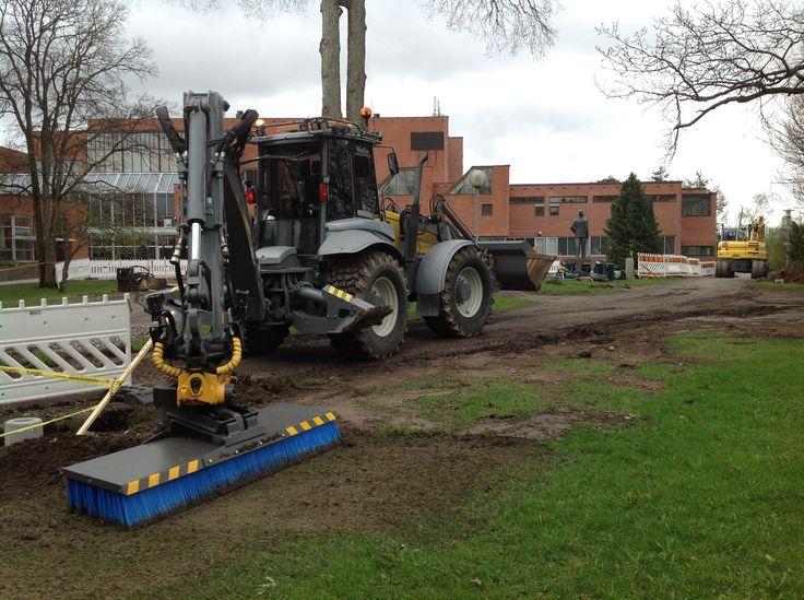 Tomi Hallia & Lännen multipurpose machine #infra #agility #strong #Lännen8600G