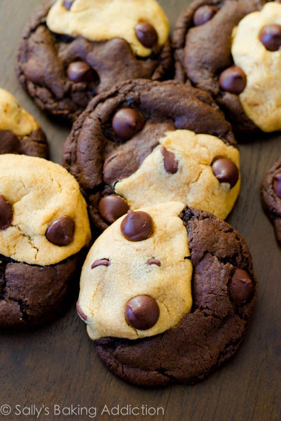 Soft-baked peanut butter chocolate swirl cookies. These may very well be the greatest things ever baked.