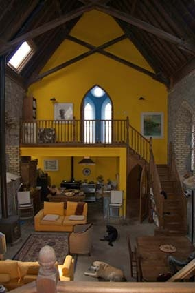 Former 19th century church structure renovated now wonderful residence in co sligo