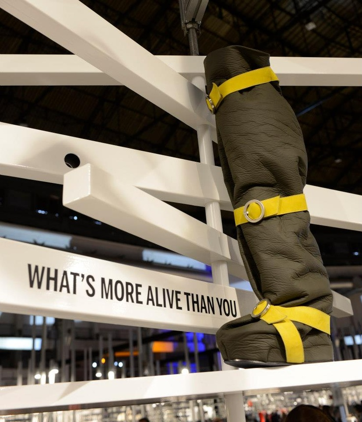 WRAP WRAP, a preview of the F/W_13.14 collection of WHAT'S MORE ALIVE THAN YOU™ presented at SUPER Fair