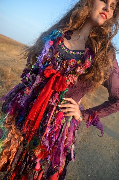 Jackets – Gypsy Boho Bohemian jacket – a unique product by IrinaBohemianDance on DaWanda