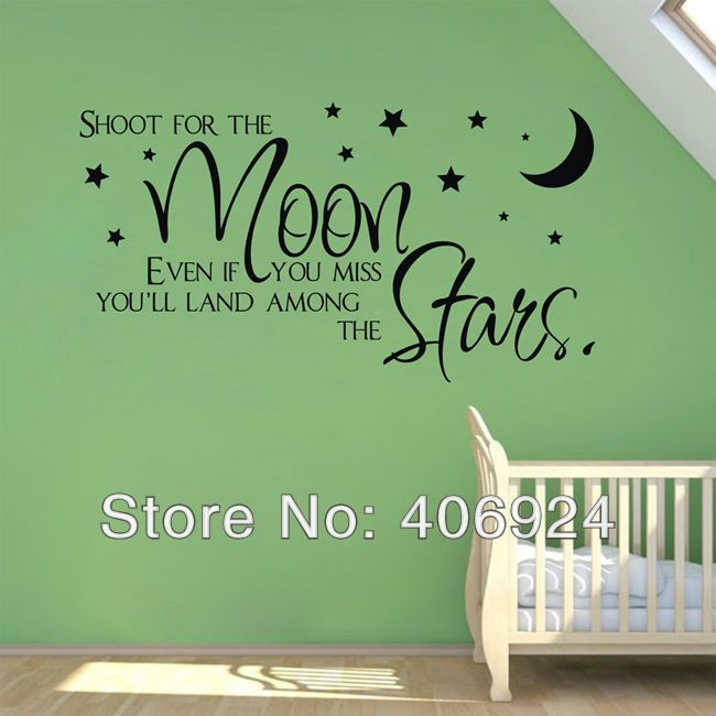 29 best images about nursery wall quotes on pinterest for Decoration quotes sayings