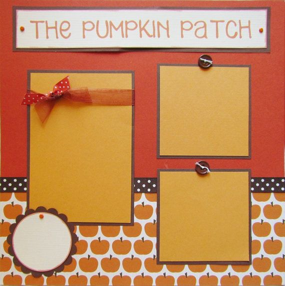 the PUMPKIN PATCH 12x12 premade scrapbook pages FaLL AuTuMn via Etsy                         jogos online gratis                         free games                         gry                         games