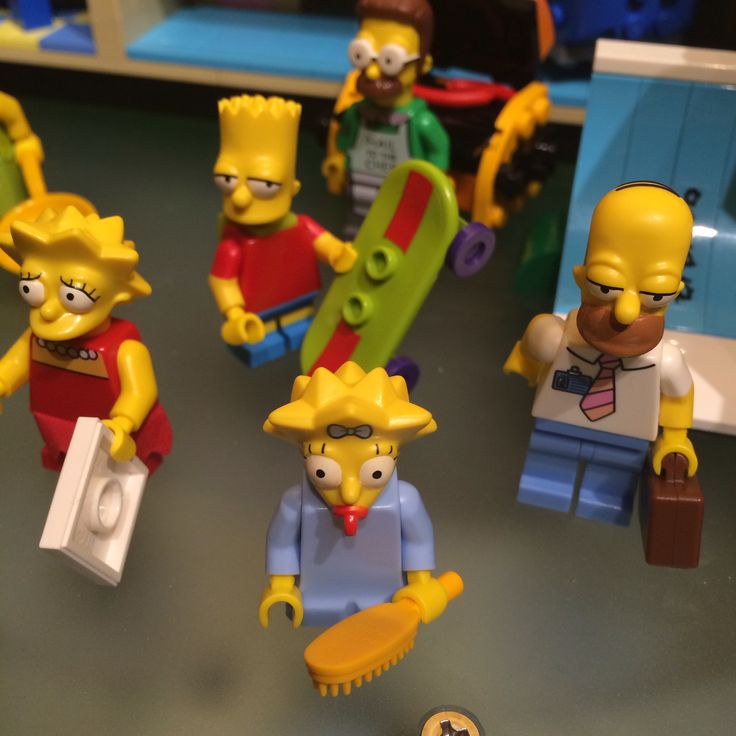 New Lego Simpsons set!Lego Boards, Simpsons Sets, Kids Stuff, Lego Simpsons