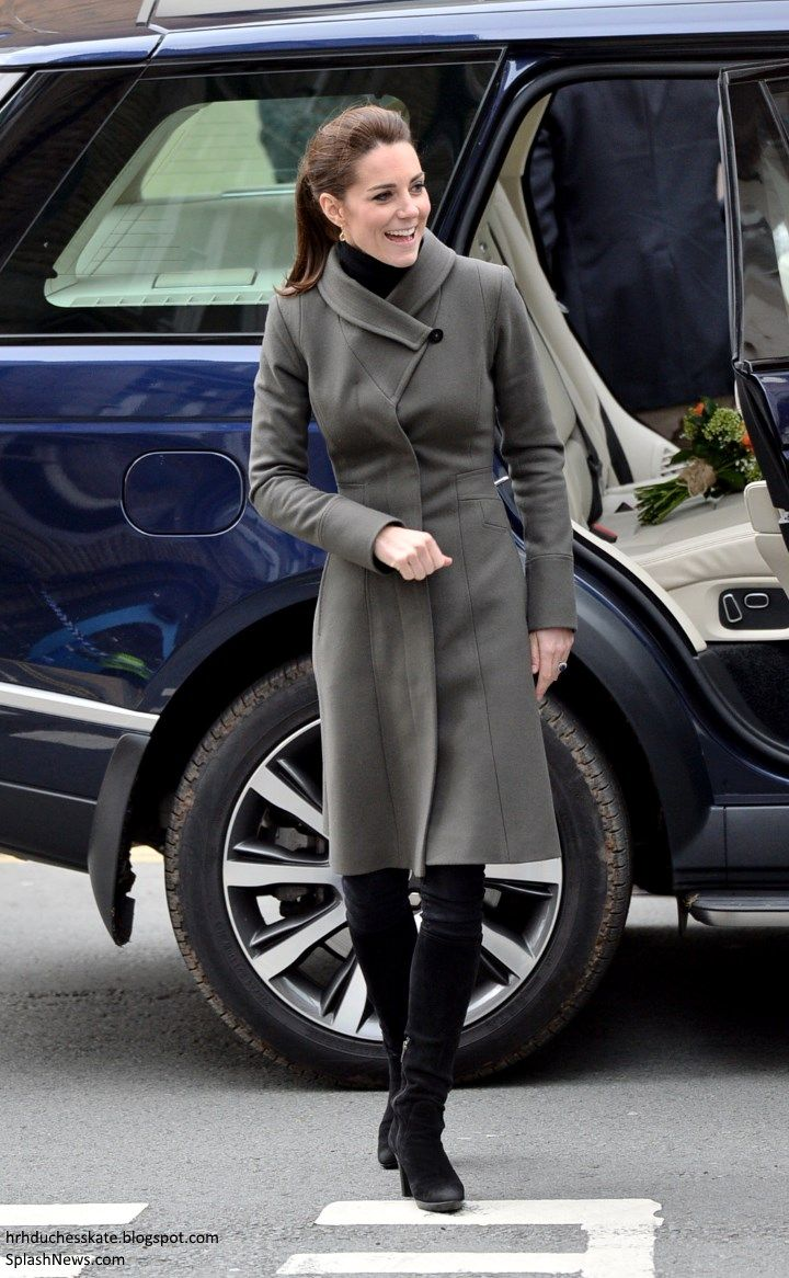 Duchess Kate: A Day of Engagements & Abseiling for the Cambridges' Day in Wales