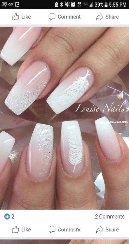 35 idées simples pour la conception des ongles de mariage #nailartideas – #design #easy # for #wedding …   – Natural Makeup  Bridal