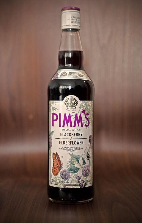 Pimm's Limited Edition Blackberry & Elderflower