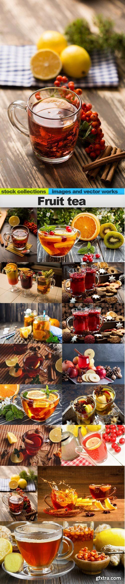 Fruit tea, 15 x UHQ JPEG