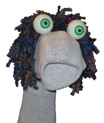I googled sock puppet and this is what I got. AWESOME!