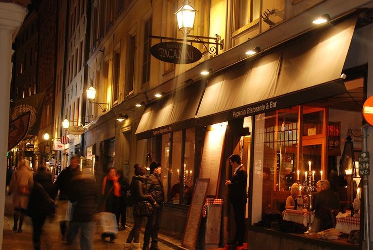 Restaurang Paganini, Gamla Stan, Stockholm.