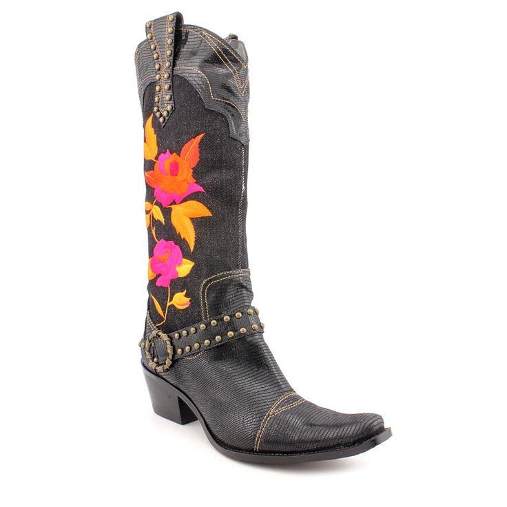 USD 61.99 — Renee Dakota — The J Renee Dakota boots feature a textile upper with a pointed toe. The man-made outsole lends lasting traction and wear / Купить ковбойские сапоги в западном стиле J Renee Womens Dakota за 2 059.60 руб. в Shoe Metro