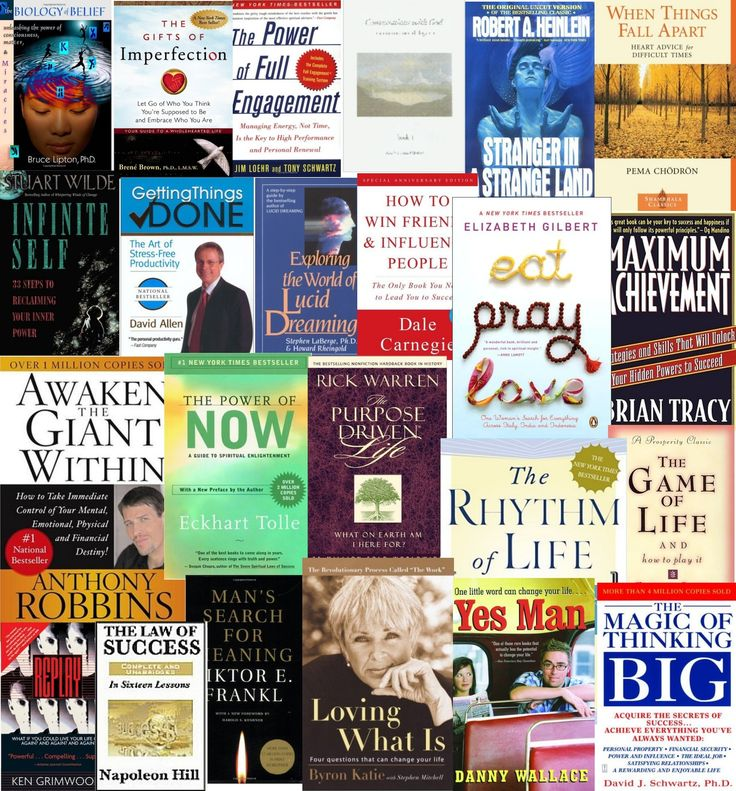 Life Changing Books for personal development
