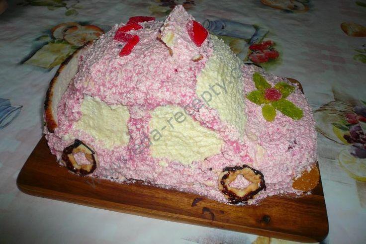 Очаровательный тортик непременно понравится вашему малышу!