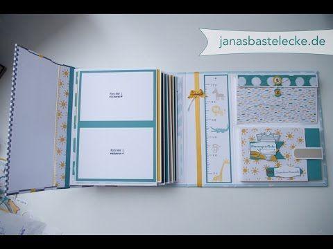Kreativer Montag 64 - Hardcover Erinnerungsalbum für Babys 1. Jahr - Teil 1 - YouTube