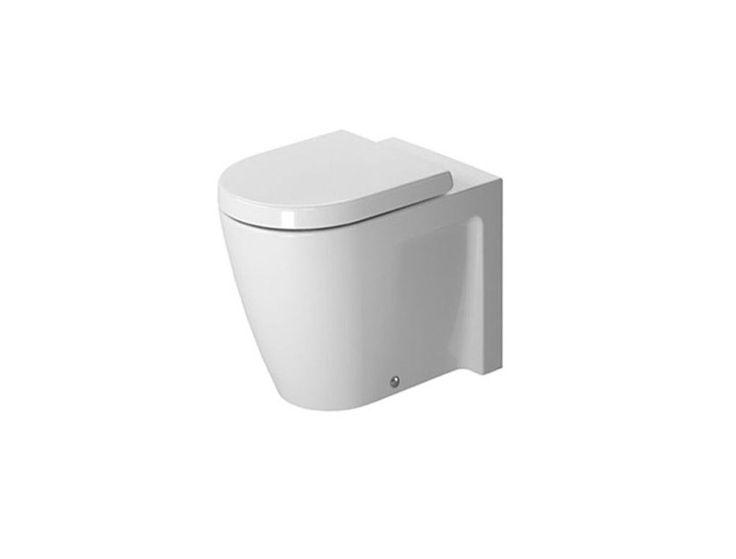 duravit starck 2 vaso a terra bagno sanitari http