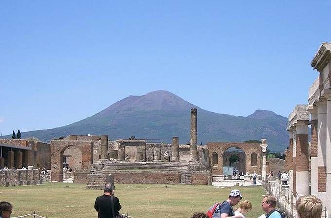 Die Ausgrabungsstätten von Pompeji