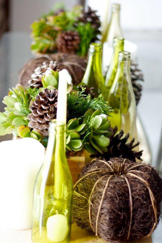 Autumn Table Decorating