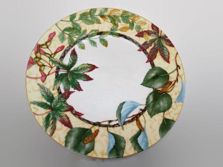 Westbury Court Arboretum Japanese Maple Honey Locust Silver Birch Dinner Plate   #WestburyCourt #Arboretum