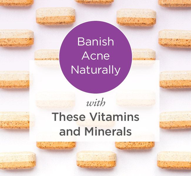 To banish these troublemakers, research has long pointed to topical medications such as benzoyl peroxide, antibiotics like tetracycline, and oral drugs that contain vitamin A, such as isotretinoin (Accutane) which is for moderate to severe acne. Alternatively, some seek more natural treatments such oral vitamin and mineral supplements. Do natural remedies also work? And if so, which ones?