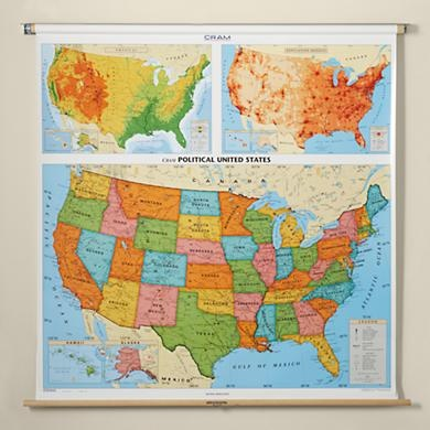 wall map. i don't know why but i've always wanted to have one of these in my house one day. must be my wanderlust?
