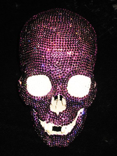Disco Skull 2/3Painting Skull, Swarovski Skull, Human Skull, Purple Skull, Google Search, Discos Skull, Things, Glitter, Advanced Searchgoogl