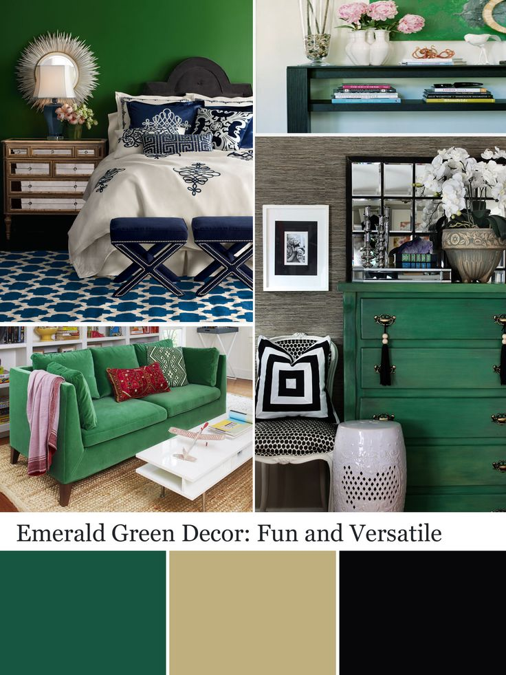 Best Decorating With Emerald Green Green Decorating Ideas 640 x 480