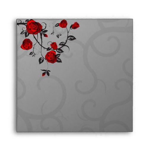 Enchanted Roses Envelopes