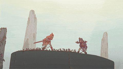 Iris vs Dark Iris, the animated GIF(with the autorisation of Etienne Guignard / Original video with music here )