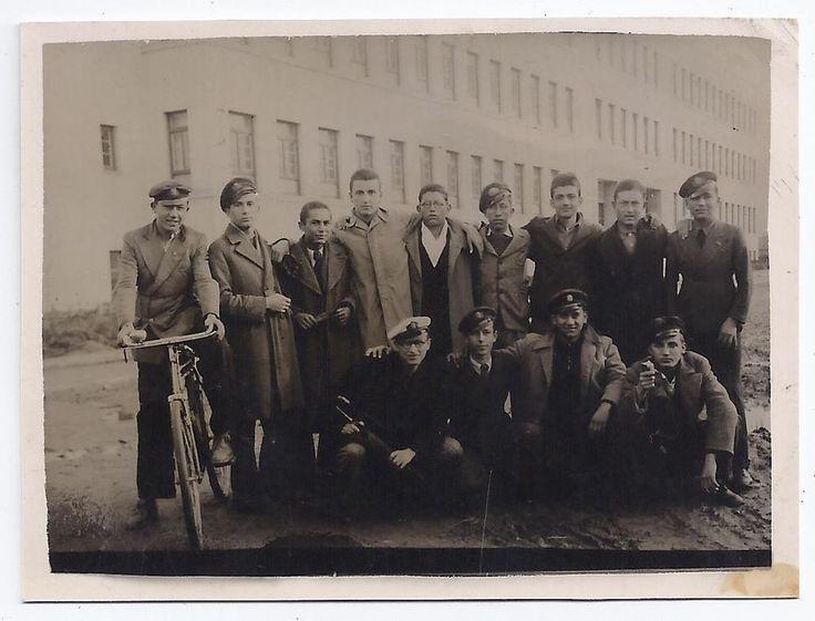 GREECE ATHENS KALLITHEA SIVITANIDIOS SCHOOL PEOPLE POSING OLD SMALL PHOTO 1939